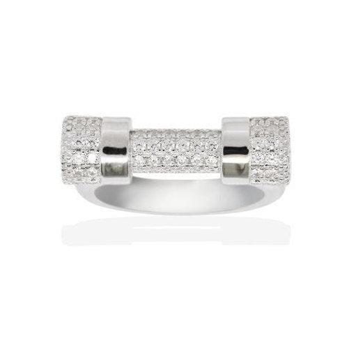 A16247OX APM Monaco BAGUE Ring Silber