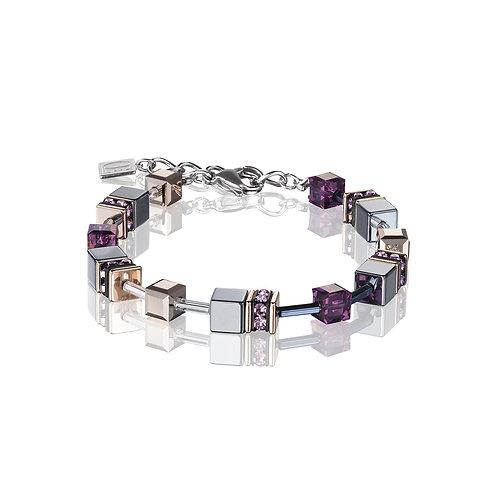 GeoCUBE® Armband Amethyst 4015300824