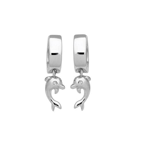 SK07 SCHNEIDER BASICS Ohrringe Silber Delfin