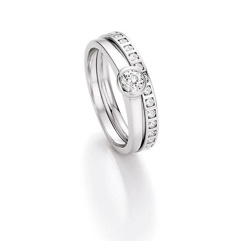 CR Ruesch Ring Weißgold 70-30250 Eheringe