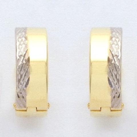 CR31 SCHNEIDER BASICS Creolen Gold