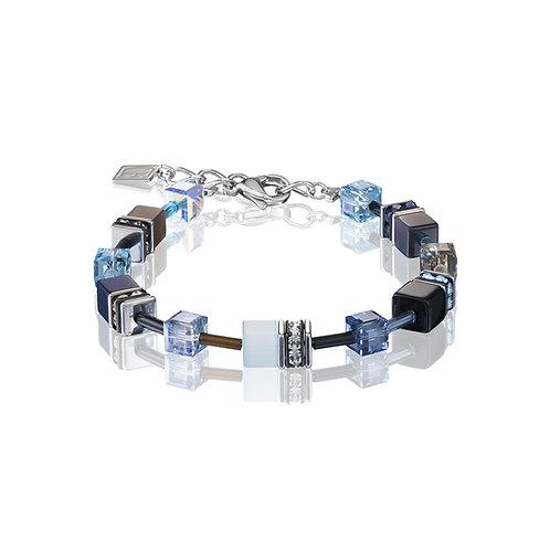 GeoCUBE® Armband blau-aqua 2838300737