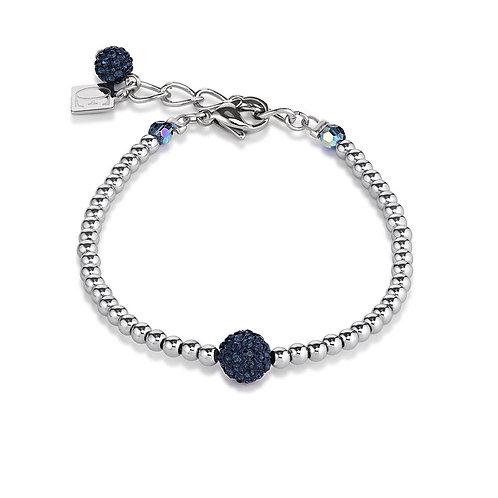 Coeur de Lion Armband Kristalle Pavé Hämatit crystal 0112300721