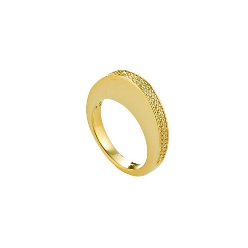 FABERGÉ Ring 18kt gelb vergoldet