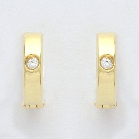 CR21 SCHNEIDER BASICS Creolen Gold