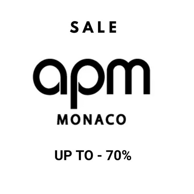 APM MONACO SALE UP TO - 70%