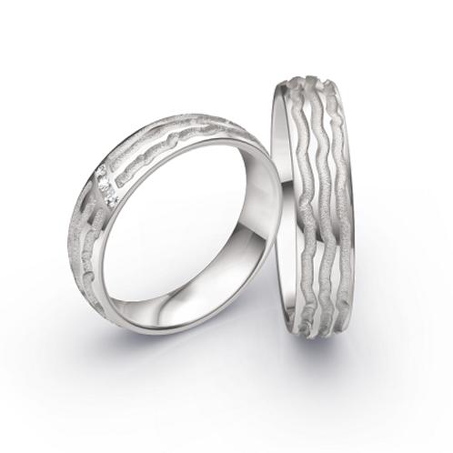 CR Ruesch Ringe Solid X WG 050/050