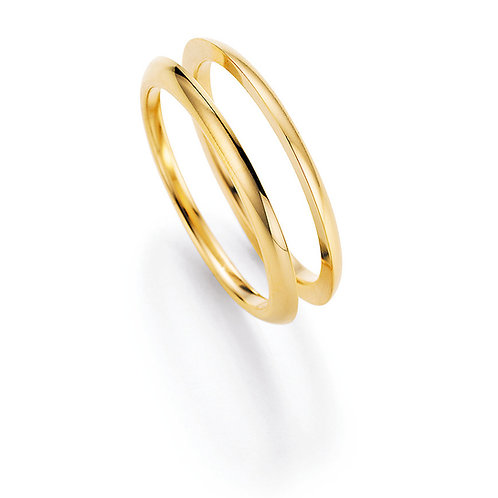 Collection Ruesch marry me Gelbgold Ringe