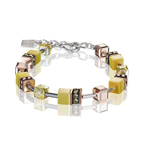 GeoCUBE® Armband hellgelb 4016300120