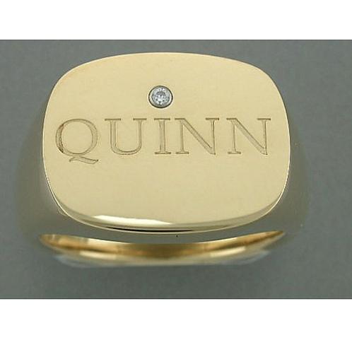 Quinn IQ Siegelring rechteckig