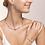 Thumbnail: Armband GeoCUBE® big Kristall Pavé Cube, Edelsteine & Edelstahl roségold rosa-be
