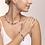 Thumbnail: Armband GeoCUBE® Swarovski® Kristalle & Edelsteine rosa-beige