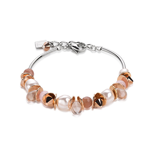 Armband frontline Swarovski® Kristalle & Crystal Pearls 4863301900
