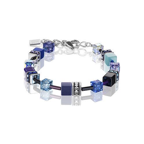 GeoCUBE® Armband blau-lila 2838300708