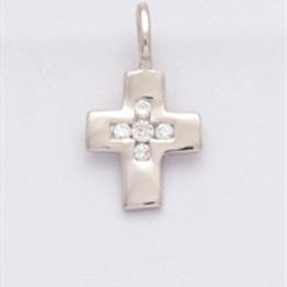 Kreuz mit Zirkonia