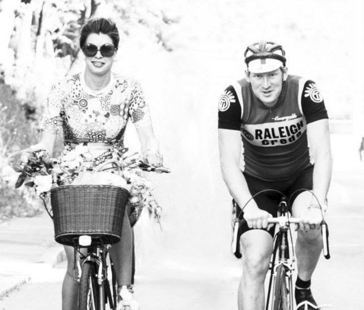 Raleigh, Eric Berthou, Virginie Segalen, Brest, Vélo, Bretagne, France
