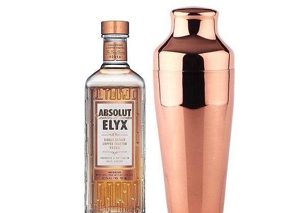 Absolut Elyx mit Parisian Cocktail Shaker