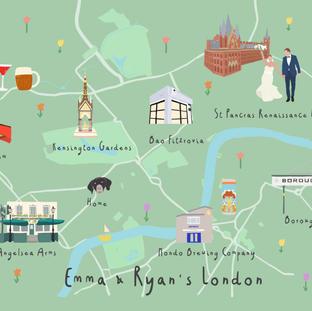 Emma and Ryans London
