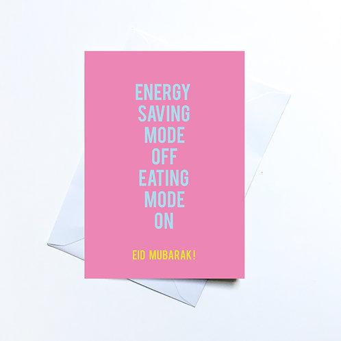 Energy Humour Eid Card