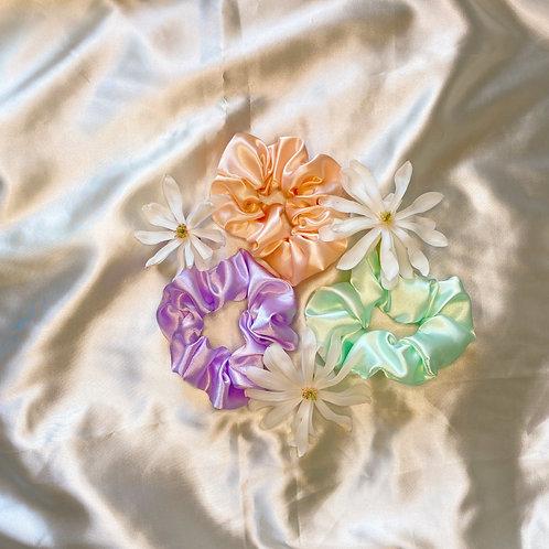 Spring Meadow Scrunchies