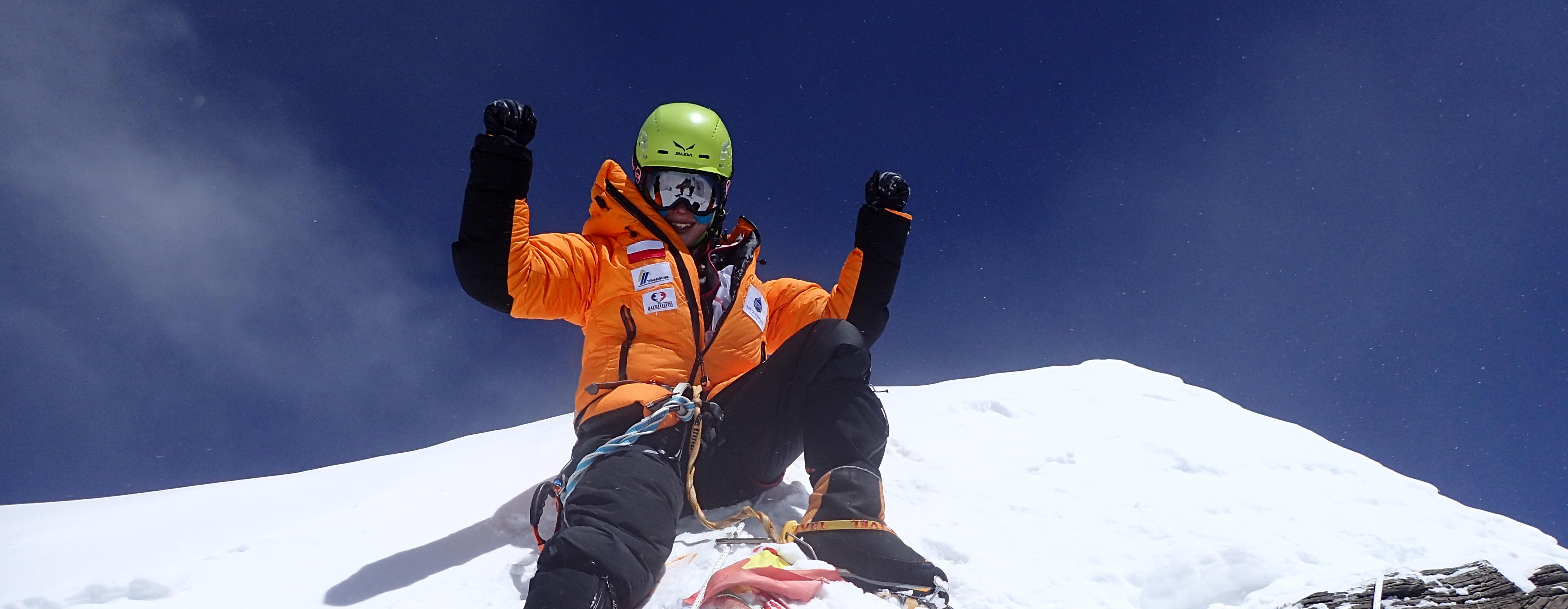 szczyt Lhotse pasek