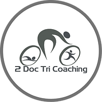 2 Doc Tri Coaching Logo