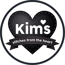 Kim's Stitches from the Heart Logo