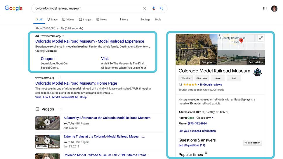 Google Ad Grant Website Landing Page Ima