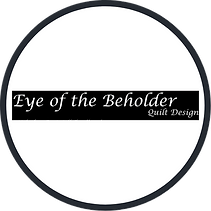 Eye of the Beholder Quilt Design Logo