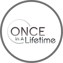 Once in A Lifetime Events Logo