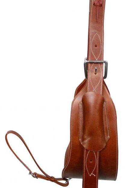 Leather Back Cinch