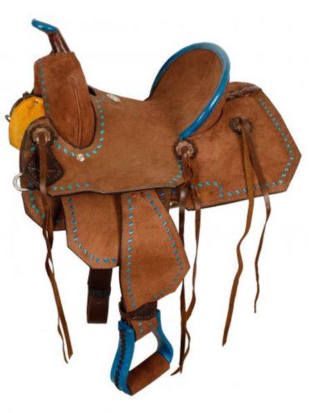 "12"" Chocolate Barrel Saddle"