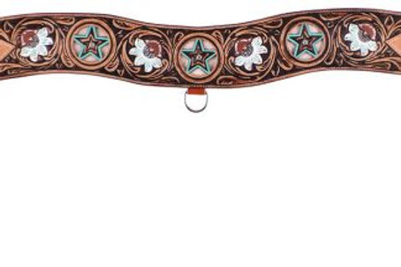 Floral Tooled Tripping Collar