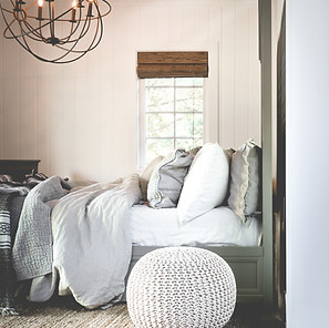 Linen bedding from RH