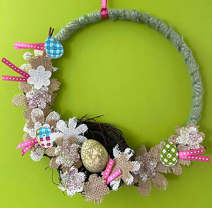 Easter Egg Hunt Decorative Wreath
