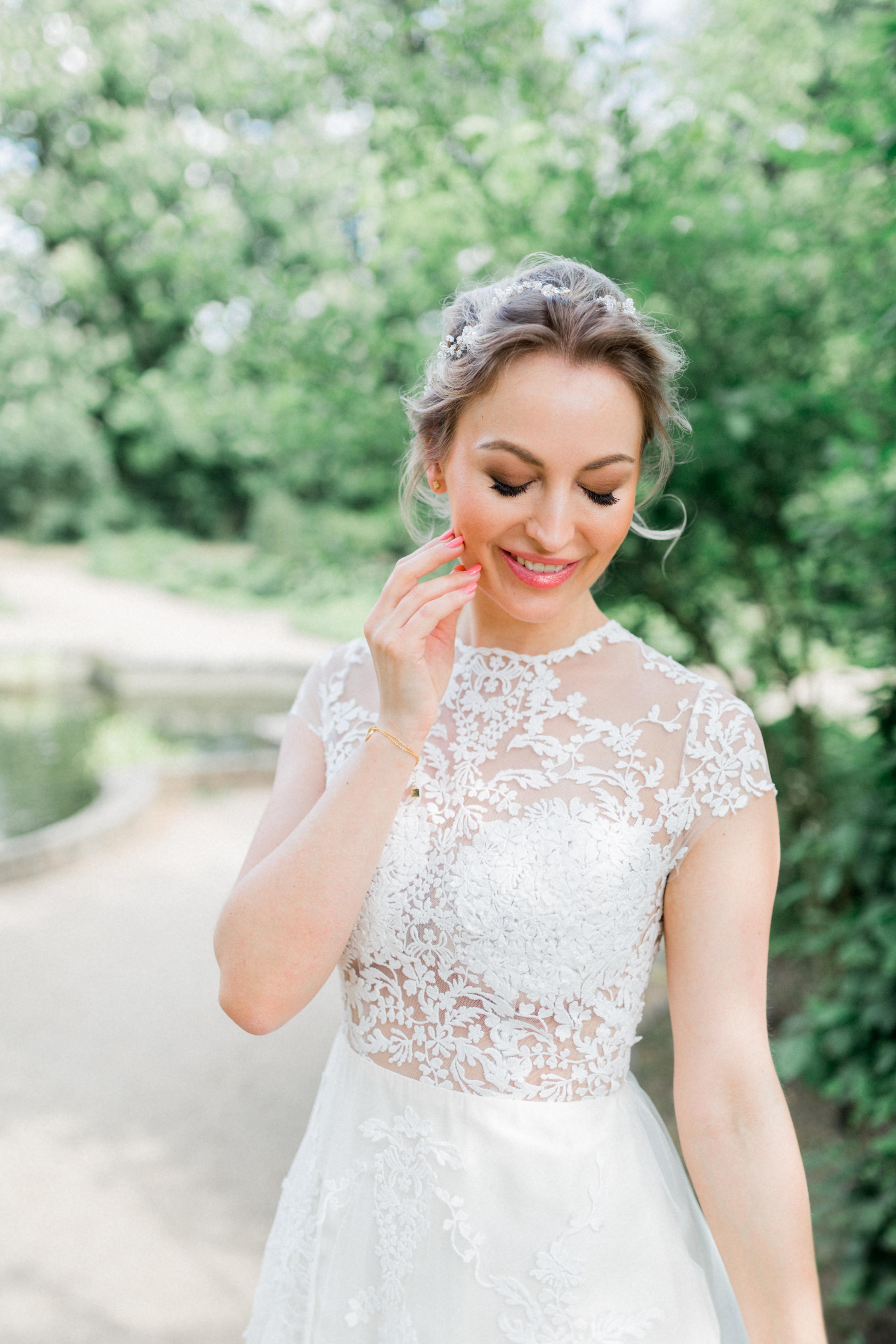 profesionelles makeup Hochzeit