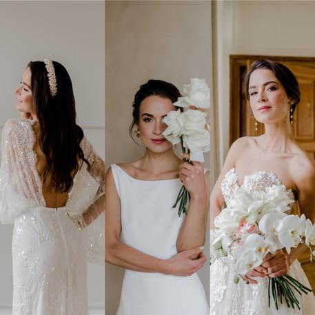 1 Braut - 3 Styles