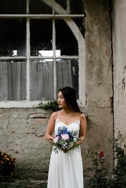 Hochzeit braut Styling