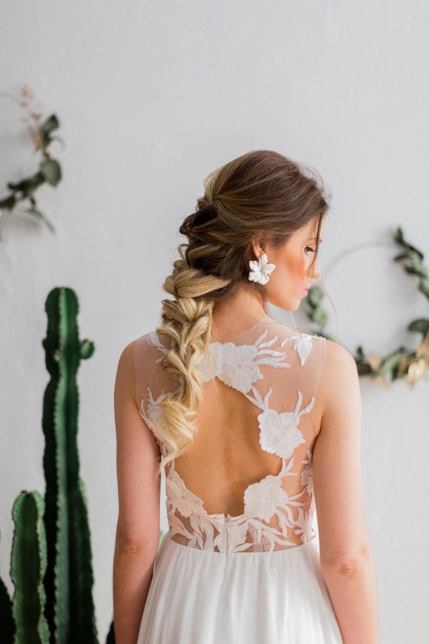 Brautfrisur , texture hairstyle , wedding hair , bridal hair , Hochzeit berlin , braut makeup , Frisuren trends 2018 , braut  , mermaid braid