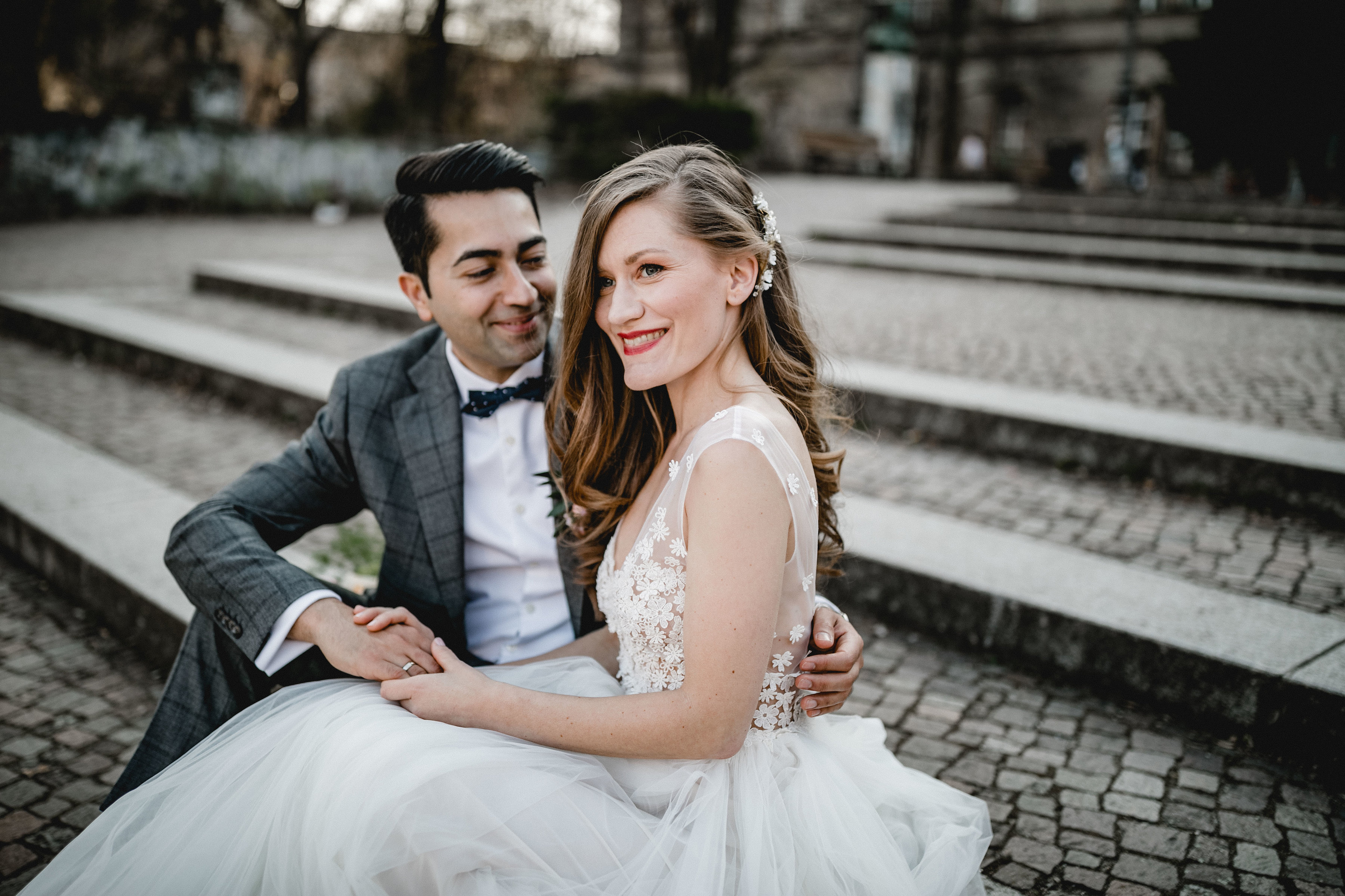 urbane Hochzeit in berlin Kreuzberg