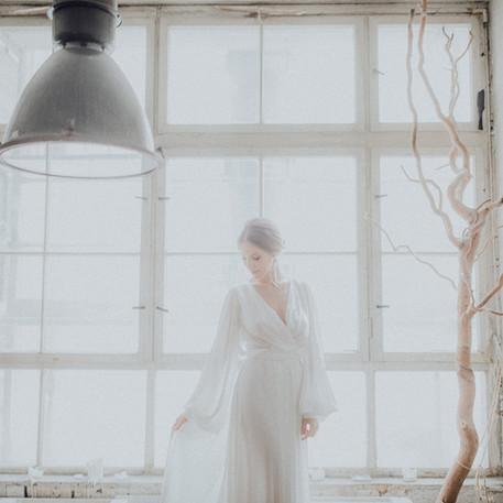 Braut Shooting in der Fabrik 23