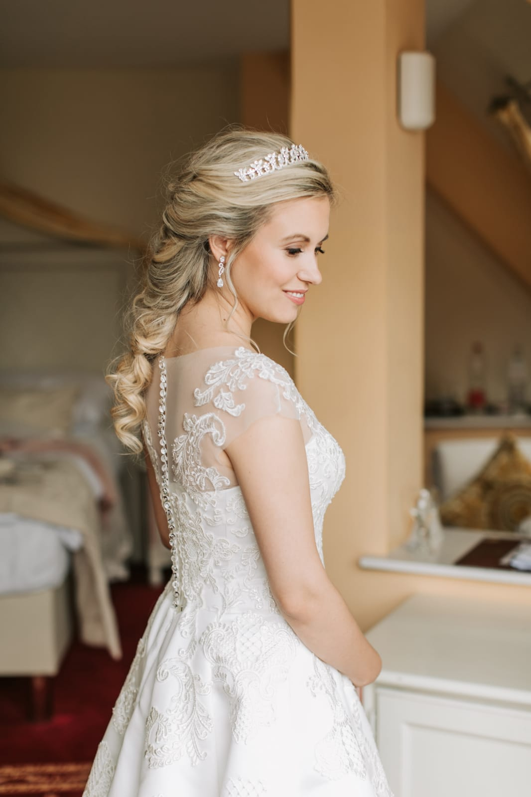 Prinzessin Styling Hochzeit berlin