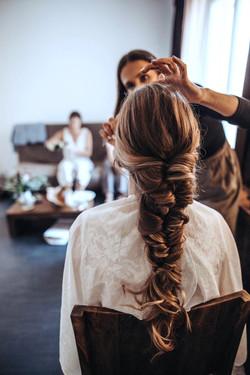 Friseur für Hochzeit