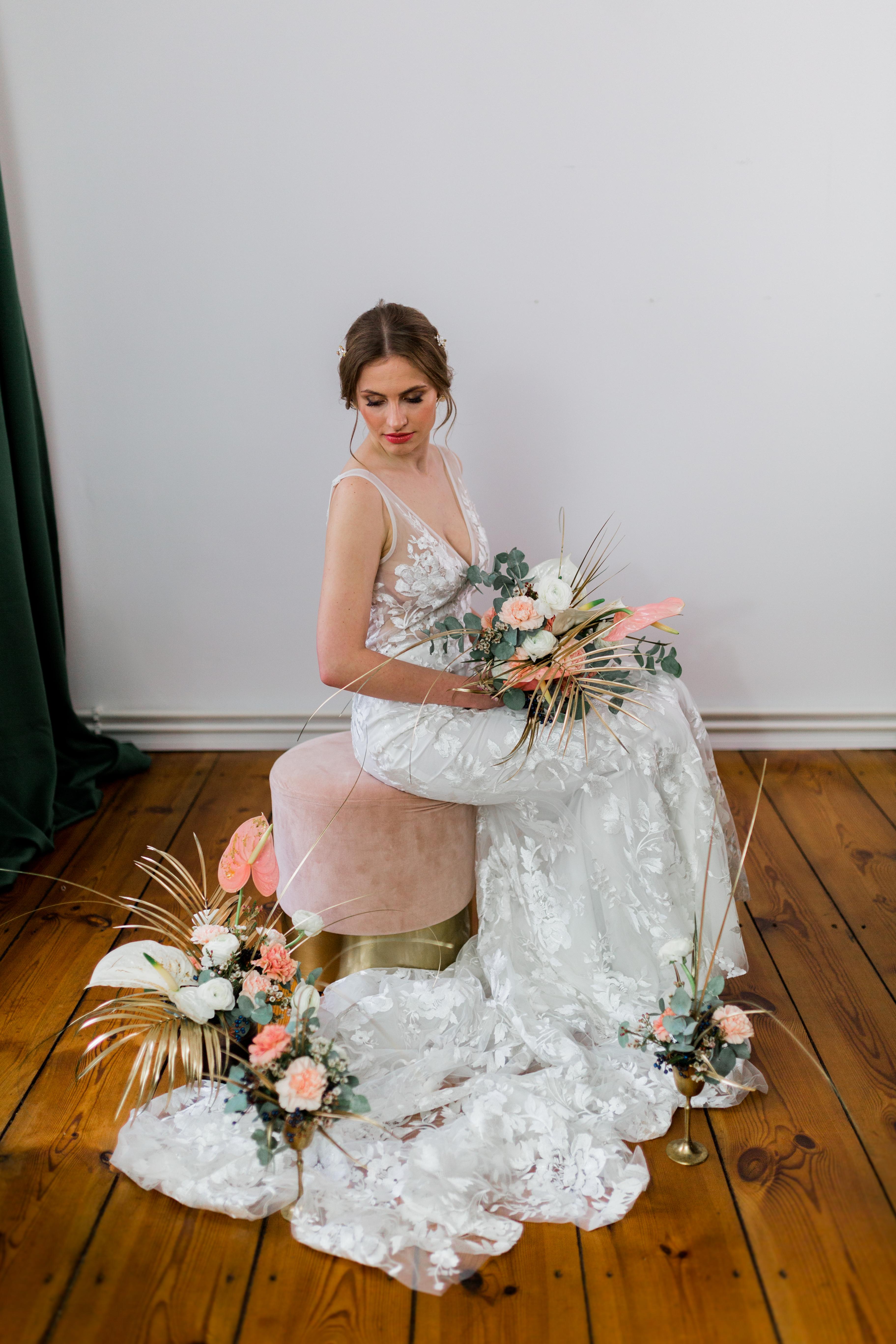 Brautstyling berlin für Hochzeiten