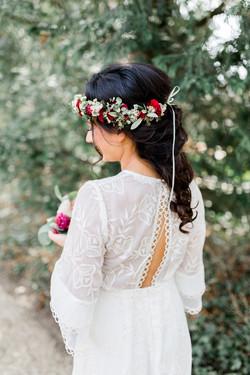 Hochzeit Brautfrisur berlin