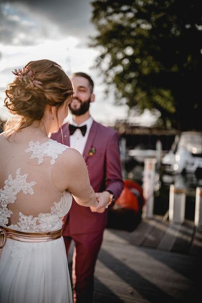 Hochzeit berlin Brautfrisur