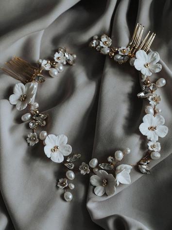 tiara für die Braut, Haarschmuck für die