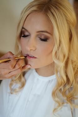 braut Make-up berlin gleam blush