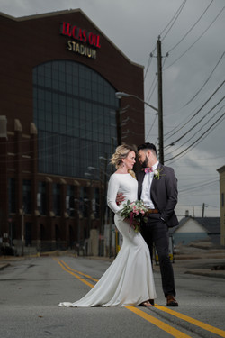 Lucas Oil Stadium Wedding