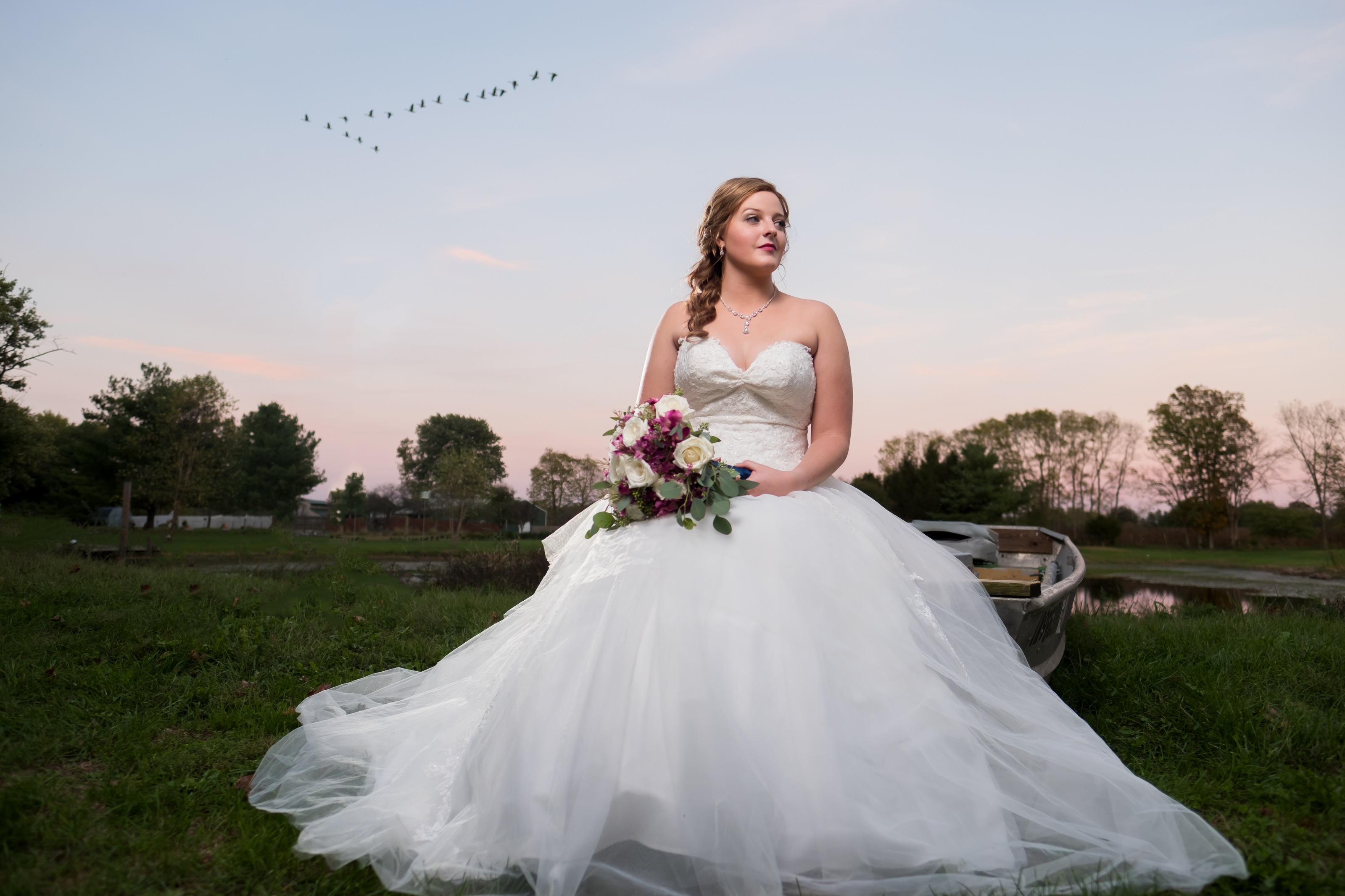 Sunset Country Wedding